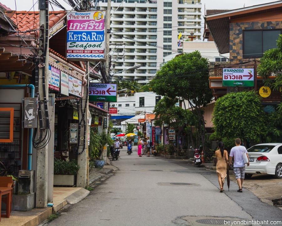 Streets of Central Huahin