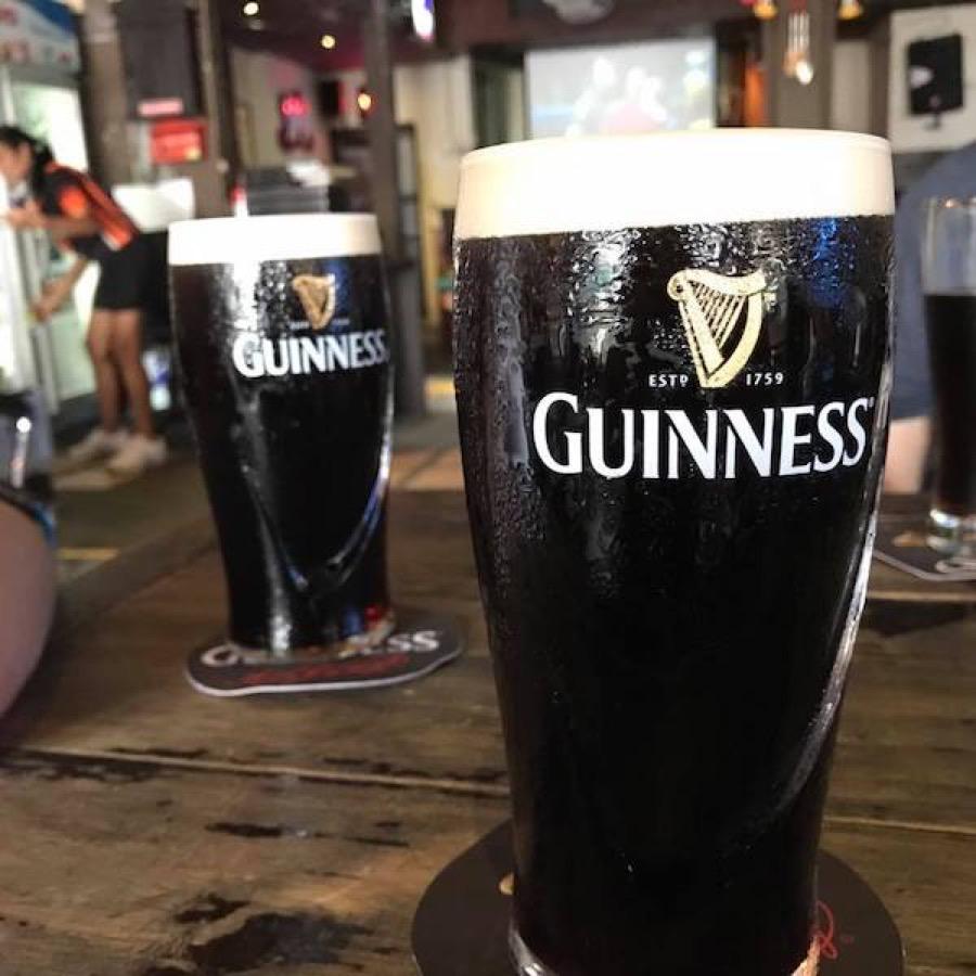 Guinness!? In an Irish pub??