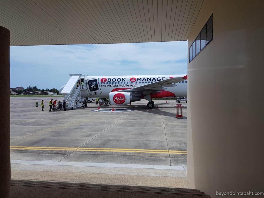 Hua Hin Airport Boarding