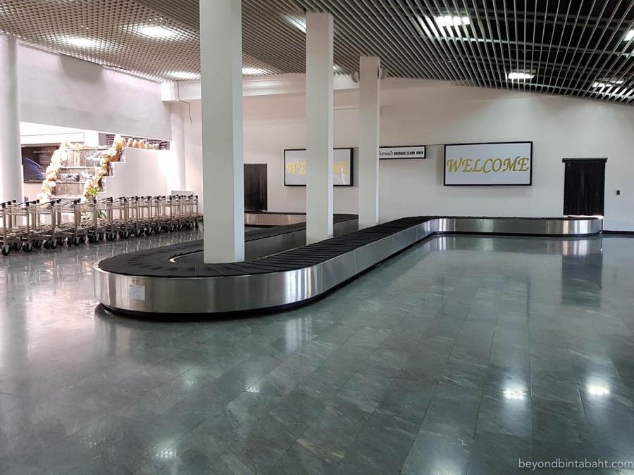 Hua Hin Airport Luggage Belt