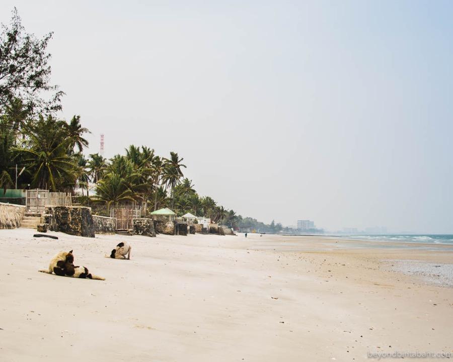 Beach at Soi 51, Hua Hin, Thailand