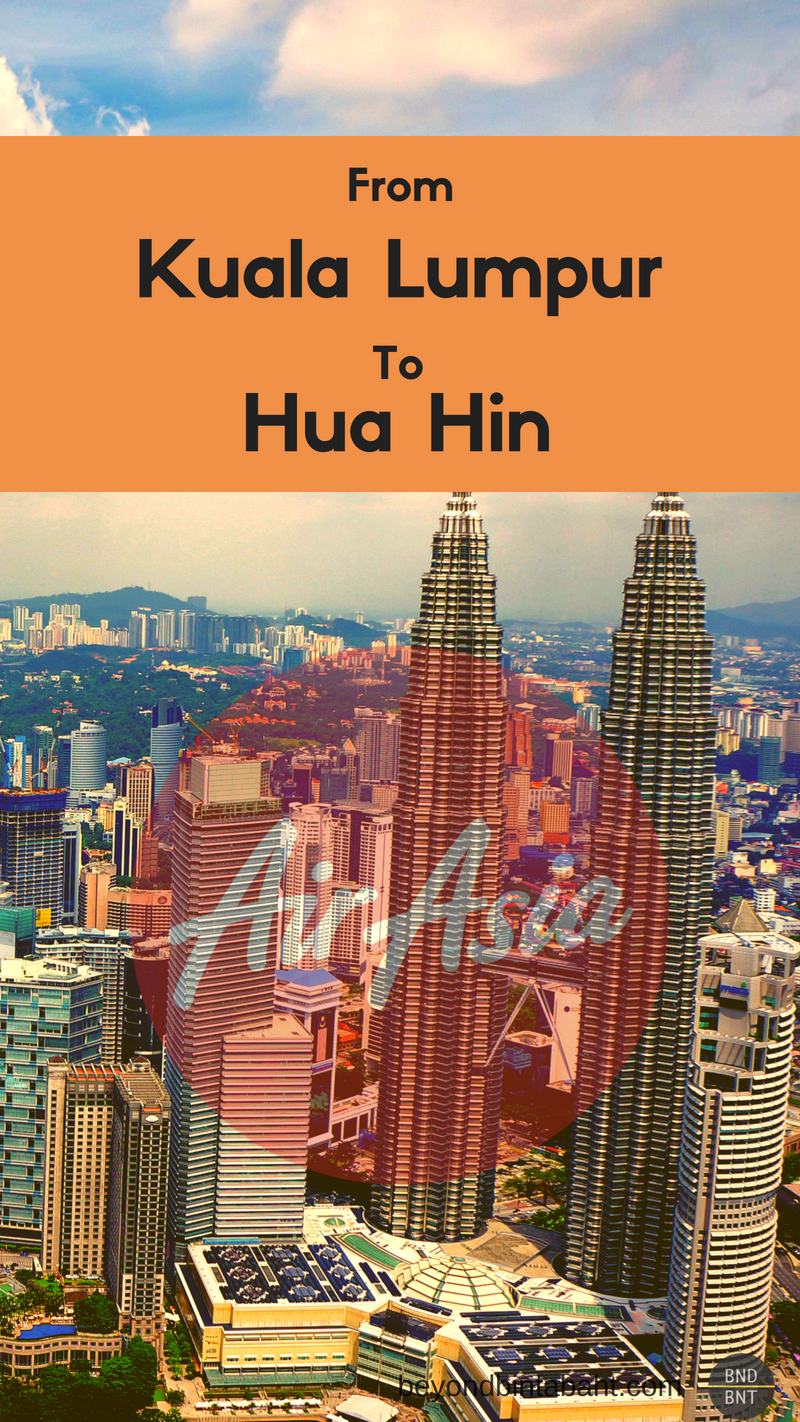 Fly from Kuala Lumpur to Hua Hin with Air Asia