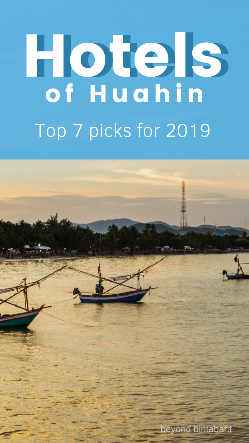See my top 7 hotels in Hua Hin, Thailand and book your dream vacation! #thailand #huahin #hotel #review