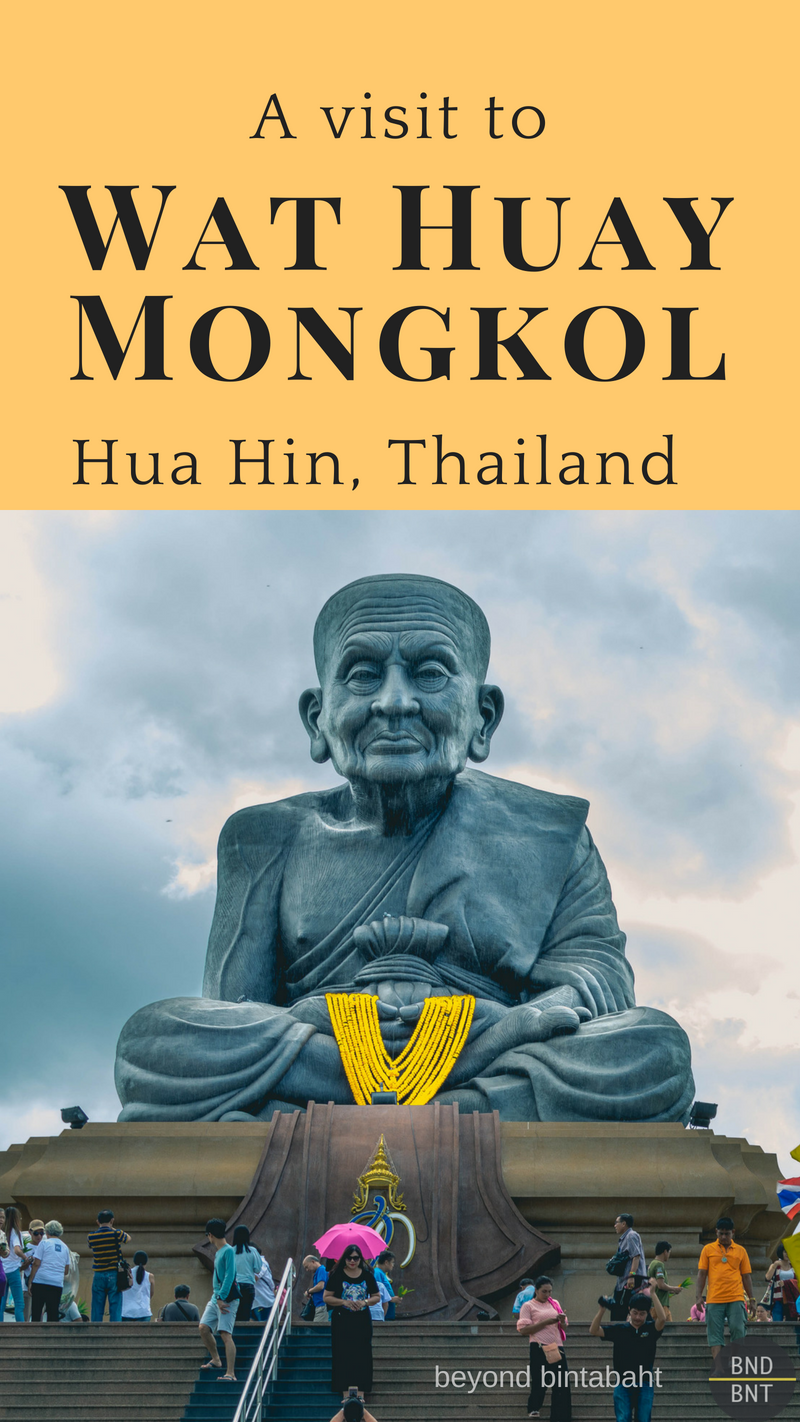 A temple dedicated to Luang Phu Thuad, a legendary Thai monk, is located in Hua Hin. His impressive, massive statue alone makes the place worth visiting - but there is more!