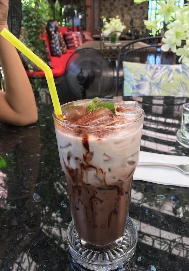 Cocoa from Pony Cafe Hua Hin