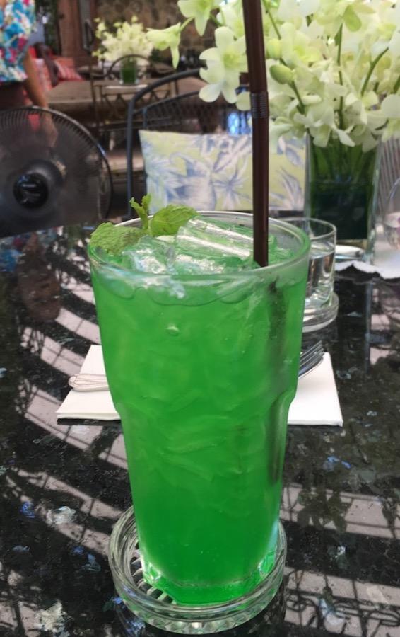 Soda from Pony Cafe Hua Hin