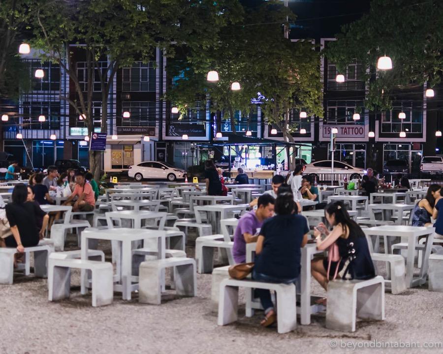 Dining at Tamarind Market Hua Hin